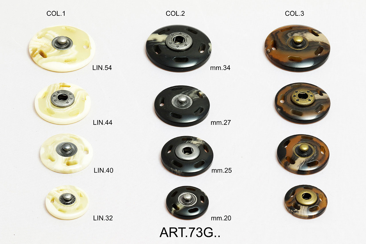 BOTTONI AUTOMATICI ART.73G54 - 44-40-32 Image