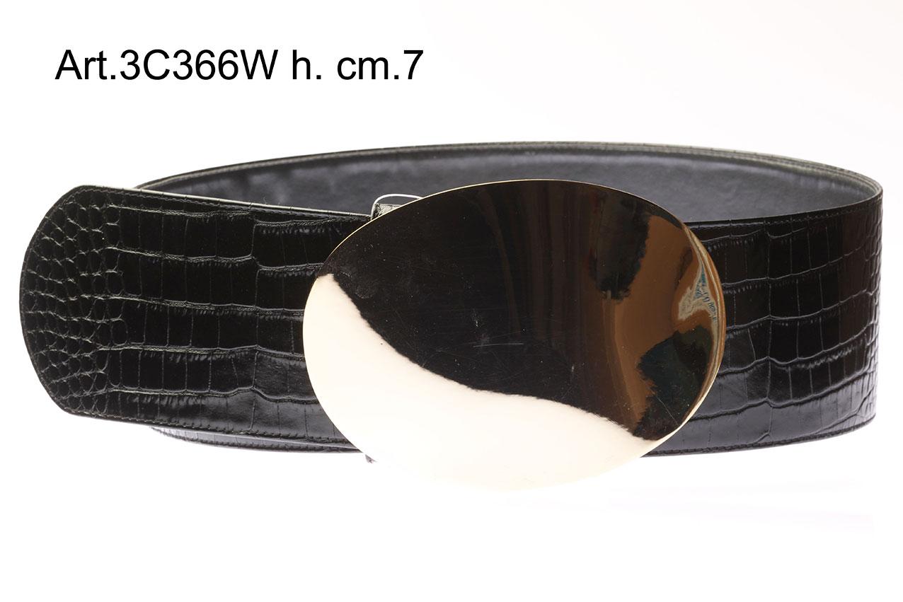 Cintura in Pelle con Fibbia Art.3C366W Image