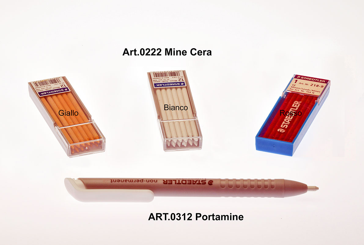 PORTAMINE E MINE IN CERA Image