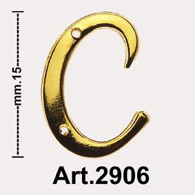 """INIZIALI """"OTTONE LUCIDO"""" Art.2906 Image"""