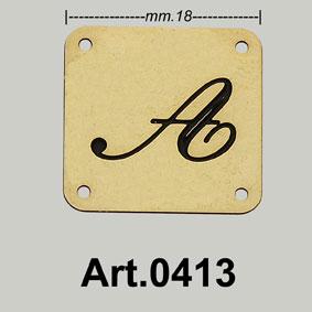"""INIZIALI """"PRIMUS"""" ART.0413 Image"""